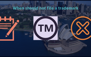 Not file a Trademark